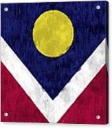 Flag Of Denver Acrylic Print