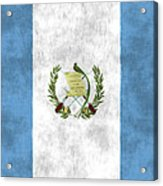 Flag Of Guatamala Acrylic Print