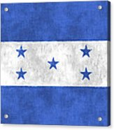 Flag Of Honduras Acrylic Print
