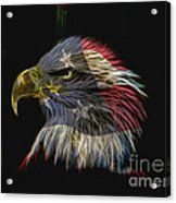Flag Of Honor Acrylic Print