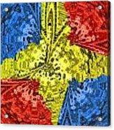 Flag Of Mars Acrylic Print