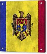 Flag Of Moldavia Acrylic Print