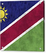 Flag Of Namibia Acrylic Print
