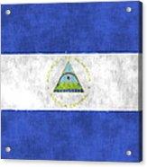 Flag Of Nicaragua Acrylic Print