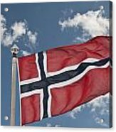 Flag Of Norway Acrylic Print