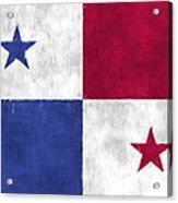 Flag Of Panama Acrylic Print