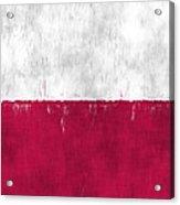 Flag Of Poland Acrylic Print