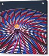 Flag Wheel Acrylic Print