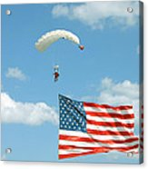 Flagdiver Acrylic Print