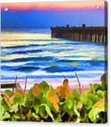 Flagler Beach Beautiful Acrylic Print