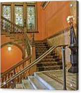 Flagler College Entryway Acrylic Print by Rich Franco