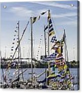 Flags Of The World 2 Acrylic Print