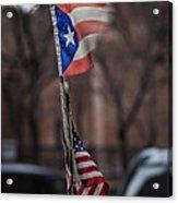 Flags Acrylic Print by Robert Ullmann