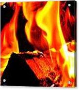 Flame Acrylic Print