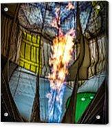 Flame On Acrylic Print