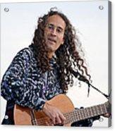 Flamenco Guitarist Acrylic Print