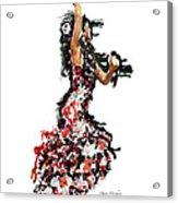 Flamenco Series #12 Acrylic Print