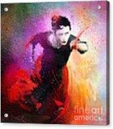 Flamencoscape 03 Acrylic Print