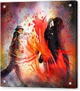 Flamencoscape 07 Acrylic Print