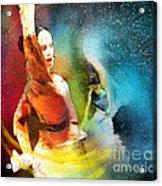 Flamencoscape 08 Acrylic Print