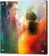 Flamencoscape 09 Acrylic Print