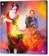 Flamencoscape 11 Acrylic Print