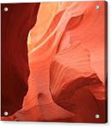 Flames In The Slot Acrylic Print