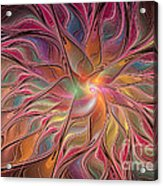 Flames Of Happiness Acrylic Print