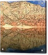 Flaming  Gorge Reflections Acrylic Print