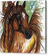 Flaming Horse Acrylic Print