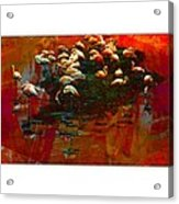 Flamingo Colours Acrylic Print