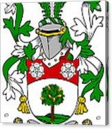 Flannery Coat Of Arms Irish Acrylic Print