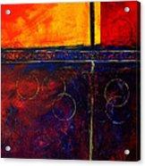 Flash Abstract Painting Acrylic Print