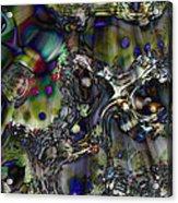Flash Descent Acrylic Print