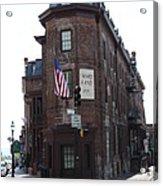 Flat Iron Annapolis - Maryland Inn Acrylic Print