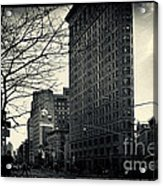 Flat Iron Building Fifth Avenue And Broadway Acrylic Print