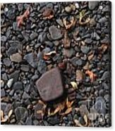 Flat Skipping Stones Acrylic Print
