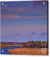 Flat Waterway Acrylic Print