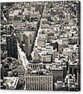 Flatiron Building - New York City Acrylic Print