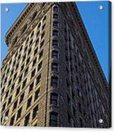 Flatiron Building New York Acrylic Print