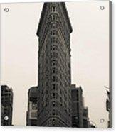 Flatiron Building - Nyc Acrylic Print