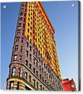 Flatiron Building Profile Acrylic Print