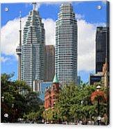 Flatiron Building Toronto 2 Acrylic Print