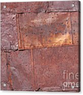 Flattened Tin Cans Acrylic Print