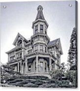 Flavel Victorian Home Acrylic Print