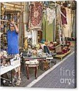 Flea Market Shop In Tel Aviv Israel Acrylic Print