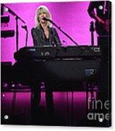 Fleetwood Mac - Christine Mcvie Acrylic Print