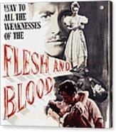 Flesh And Blood, Top L-r Richard Todd Acrylic Print