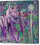 Fletcher's Garden Acrylic Print