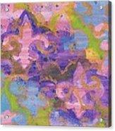 Fleur De Lis 1 Acrylic Print by Ellen Howell